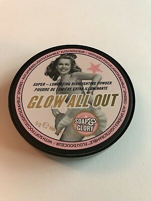 Soap and Glory Glow All Out Highlighting Face Powder Compact- NEW SEALED