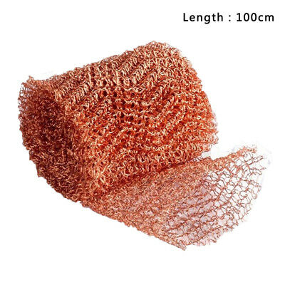 Copper Mesh Pest Control Still Packing Roll Reflux Moonshine Brewing Durable
