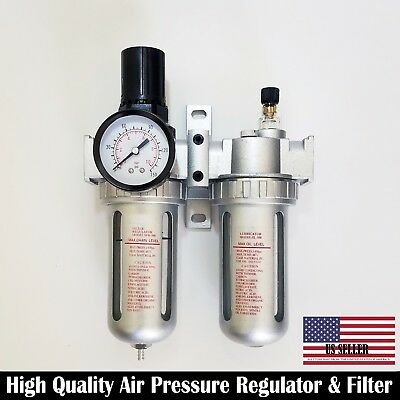 Air Twin Filter Regulator lubricator Control Unit Water Trap for air Compressor