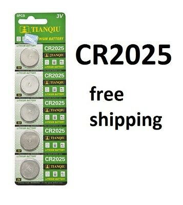CR2025 Battery 3v 220mah lithium Battery button cell/coin 5-20pcs Melbourne