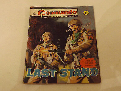 Commando War Comic Number 230!,1966 Issue,v Good For Age,52 Years Old,very Rare.