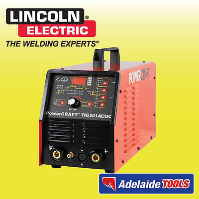 Lincoln Electric Power Craft 201amp Ac/Dc TIG Welder - K69021-4