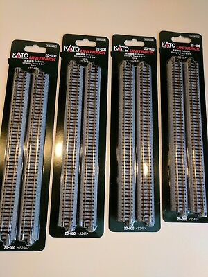 Kato 4  packs of 248 mm straight  20-000