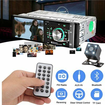 4.1 inch 1 Din MP5 Player Car Radio Auto Audio Stereo FM Bluetooth 2.0 with Cam