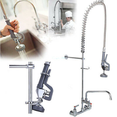 "Commercial Pre-Rinse Faucet 12"" Add-On Faucet Kitchen Restaurant Dishwasher QZ"
