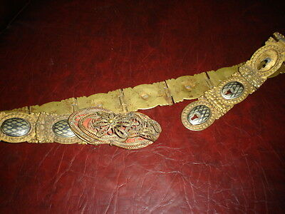 Rare antique Ottoman bride belt ,hand maded