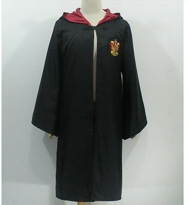 "Fully Lined Gryffindor Cloak Coat Harry Potter Hermione M 5ft 4""-5ft 7"" inc Tie"