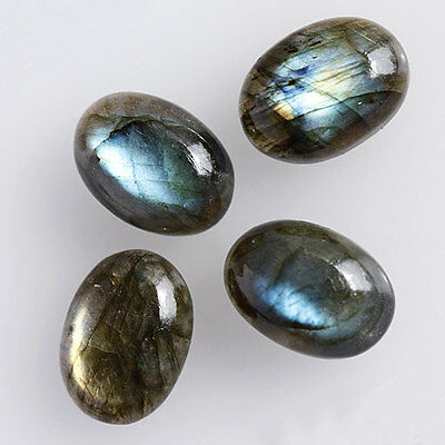 22x16MM Oval Shape, Awesome Genuine Labradorite Calibrated Cabochons AG-209