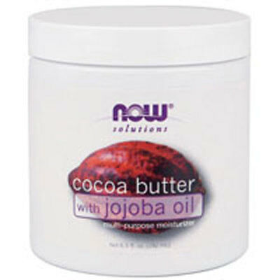 Cocoa Butter With Jojoba Oil 6.5 oz by Now Foods