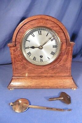 Antique British Coventry Astral Pendulum Time Keeper Bracket Clock