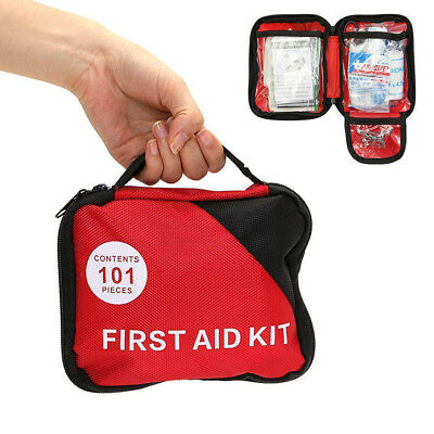 LC_ 303x Household Outdoor Survival Travel Emergency First Aid Kit Rescue Bag