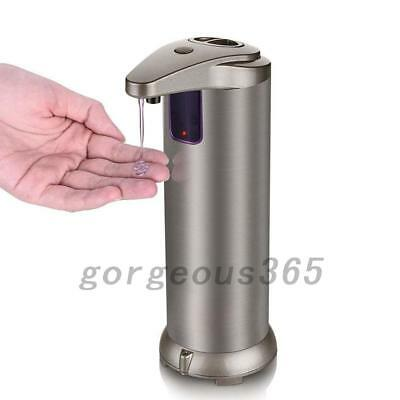 Stainless Steel Automatic IR Sensor Touchless Soap Liquid Dispenser Home