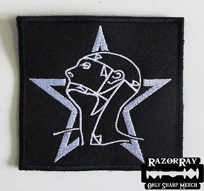 SISTERS OF MERCY [white] -- Embroidered Patch