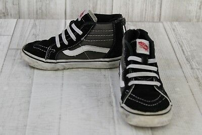 664af90e3a VANS HI SK8 Boys Girls 10.5 Toddler Kids Shoes -  6.25