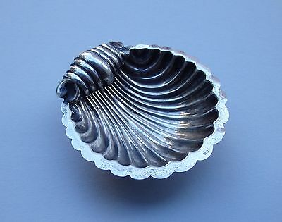 Antique-Art Deco-Little Silver Bowl-Seashell
