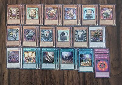Yu-Gi-Oh Cardian Deck with Extra Deck Boardefly Lightflare Pine