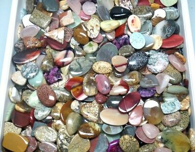 900Cts. Top Quality Mix Wholesale Lot Natural Mix Loose Gemstone Cabochon 2949