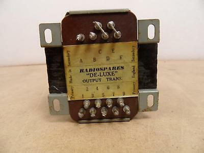RS deluxe output transformer, el34 pp, Marshall JTM 45 very nice