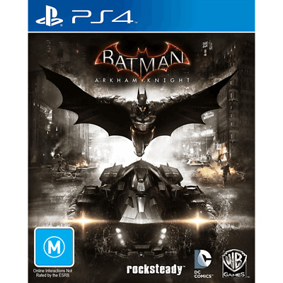 Batman Arkham Knight PlayStation 4 PS4 GAME BRAND NEW FREE POSTAGE