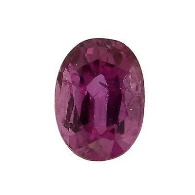 oval GIA certified natural pink sapphire 0.73ct Genuine Loose gemstones NR