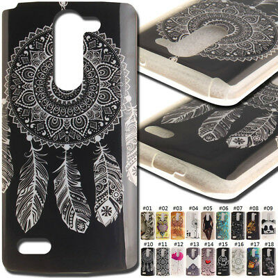 For LG Rubber TPU Back Silicone Soft Cover Skin Protective Shockproof Gel Case