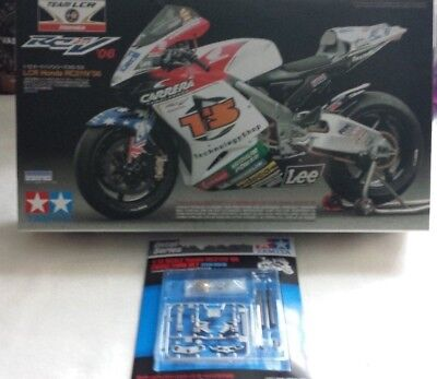 TAMIYA 1/12 team LCR Honda RC211V 2006 MotoGP with included detail up series set