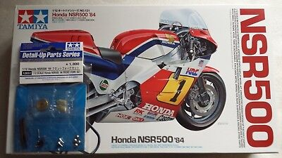 Tamiya 14121 1/12 Honda NSR500 '84 with front fork set included