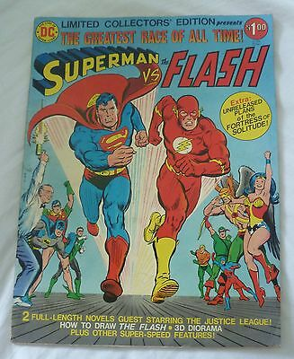 Limited Collectors Edition Greatest Race of All Time Superman vs The Flash C-48