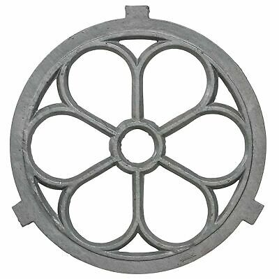 Barn window frame in an antique style cast iron 71cm (j)