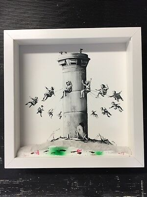 Banksy - Walled Off Hotel Boxset, DIY conservation kits, museum, picture framing