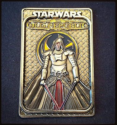 DARTH REVAN Custom Star Wars Legends Coin - Only 50 Made - Non NYPD CPO Coin
