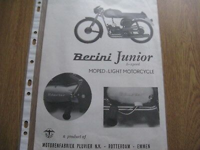 Berini Junior  Brochure