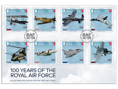 100 Years of the Royal Air Force UV First Day Cover (WB91)