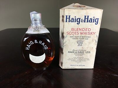 Haig & Haig's Pinch 12 Year Old with box and.Unopened