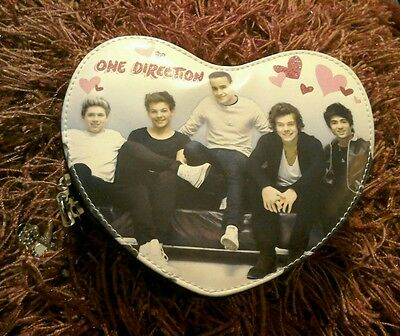 Avon One Direction Heart Shaped Secret Storage Trinket Jewellery Box Lockable
