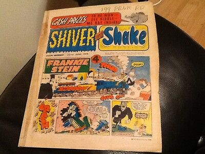 SHIVER AND SHAKE  Paper comic JUNE 1974 ISSUE NUMBER 68 in Fair  condition