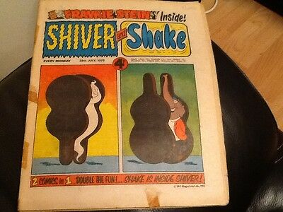 SHIVER AND SHAKE  Paper comic 1973 ISSUE NUMBER 21. Still in good condition