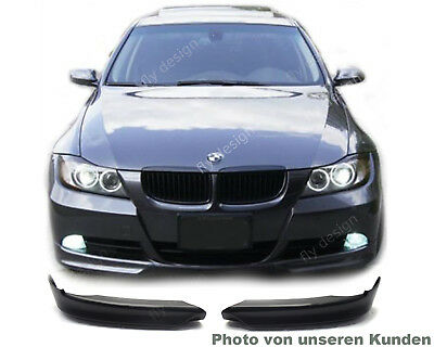 BMW E90 E91 Front Limousine Touring 2005-2008 Spoiler ABS Material sportlich