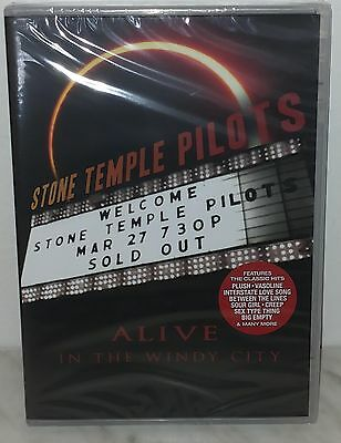 Dvd Stone Temple Pilots - Alive In The Windy City - Nuovo - New