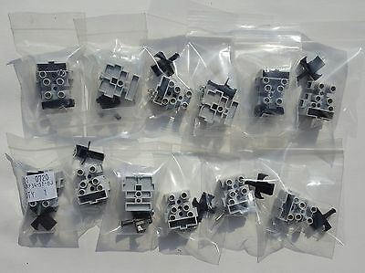 10 x Fused Terminal Block 3 Pole for 20 x 5mm Fuses, Metway 400V 10A