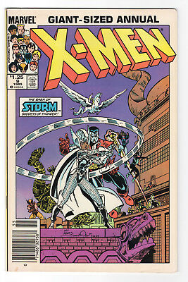"1985--""x-Men"" Annual #9--Marvel Comics--Vf/nm"