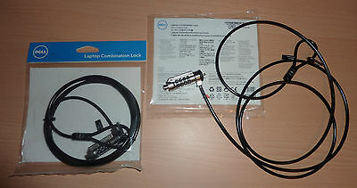 NEW GENUINE Dell LAPTOP PC COMBINATION Lock 6ft Kensington Security Cable 4T78N