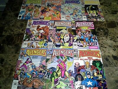 Avengers 270 271 272 273 274 275 276 277 278 279 NM/M to NM 9.8 to 9.4