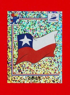 WC FRANCE '98 Panini 1998 - Figurina-Sticker n. 103 - CHILE - BADGE -New