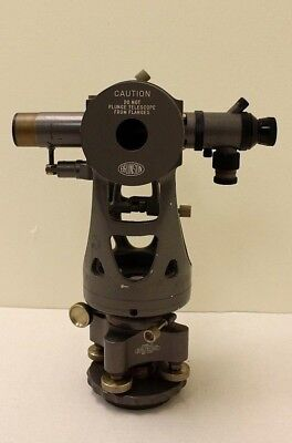 Brunson Transit Theodolite Scope Micrometer, Bruning 75