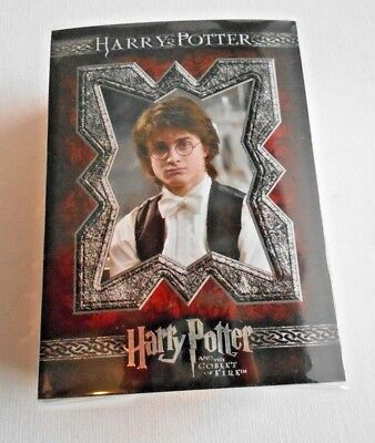Harry Potter & The Goblet Of Fire Trading Cards Basic Set 90 Artbox