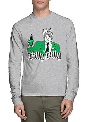 Dilly Dilly Patricks Day Beer President Juniors Tank Top Donald Trump St