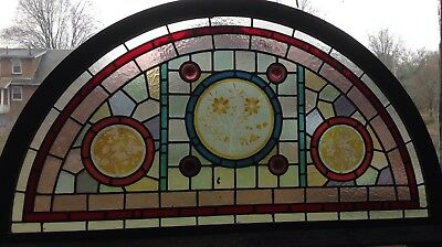 arch stained glass window