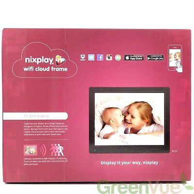 Nixplay Original 15 inch WiFi Cloud Digital Photo Frame W15A