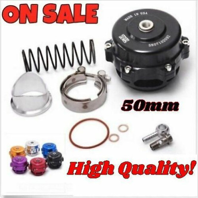 Tial 50mm V Band Blow Off Valve BOV Q Typer with Weld On Aluminum Flange Black